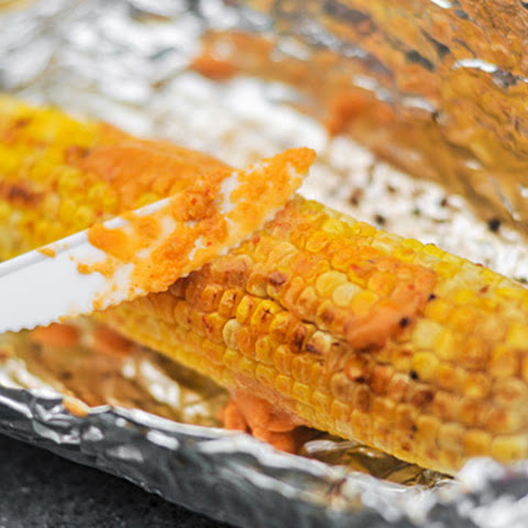 Grilled Corn with Spicy Miso Butter