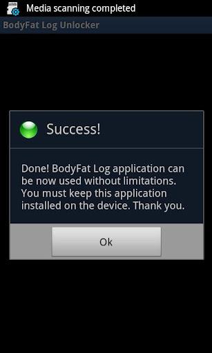 BodyFat Log Unlocker