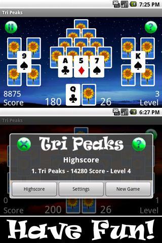Tri Peaks HD
