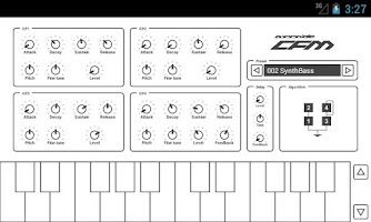 Screenshot of Common FM Synthesizer
