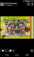 Screenshot of PhotoFrames Pro