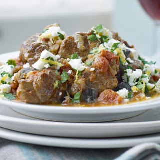 Greek Summer Lamb Stew With Feta