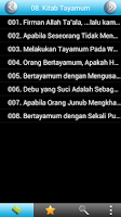 Screenshot of Sahih Bukhari Malay Free