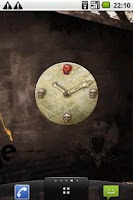Screenshot of Skulls Clock Widget
