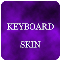 Violet Foggy Keyboard Skin icon