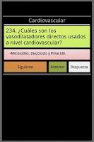 Screenshot of Farmacología en preguntas