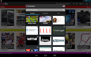 Screenshot of Taptu - DJ your News