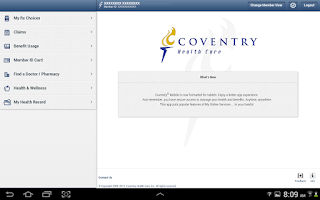 Screenshot of Coventry® Mobile