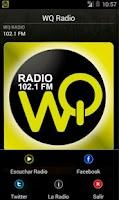 Screenshot of WQ Radio