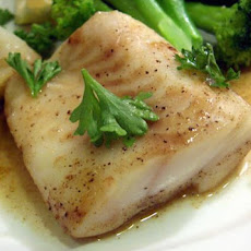 Oven Baked Fish in White Wine