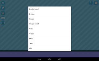 Screenshot of App Builder - Bluetopping Lite