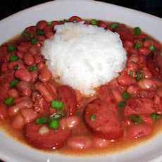 Cajun Style Red Bean and Rice Soup