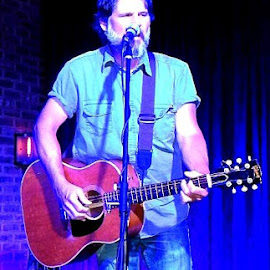 Chris Knight at Spirits Food & Friends tonight 06-27-2014 by Kelly Stevens - Artistic Objects Musical Instruments