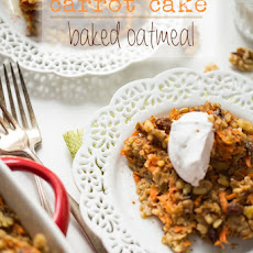 Heavenly Carrot Cake Baked Oatmeal