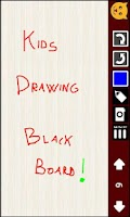Screenshot of Kid's Drawing blackboard