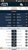 Screenshot of Goal Live Scores