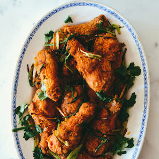 Five Spice Crispy Chicken Drumsticks