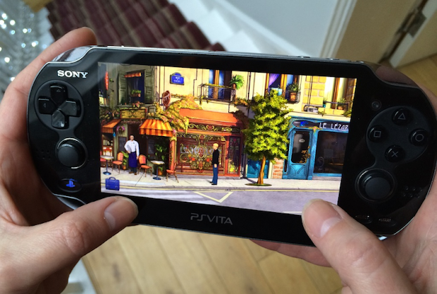 Broken Sword 5 arrives on the PS Vita