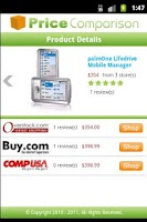 Screenshot of Price Comparison Script
