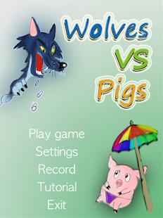 Pigs vs wolves