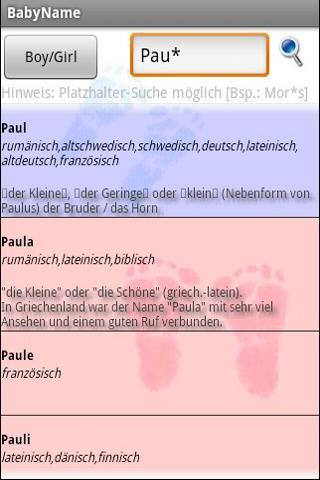 【免費書籍App】Babynamen German-APP點子