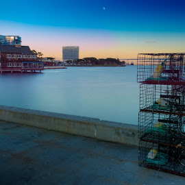 Bay Sunset by Ralph Resch - Buildings & Architecture Other Exteriors ( waterscape,  )