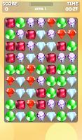 Screenshot of Diamond match game