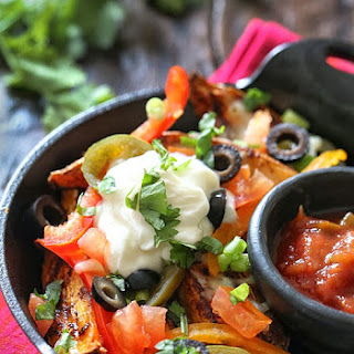 Sweet Potato Irish Nachos