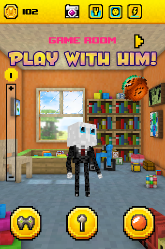 Slendy - slender-man style pet - screenshot