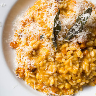 Pressure-Cooker Butternut Squash Risotto With Frizzled Sage and Brown Butter