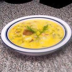 Chowder with Smoked Salmon