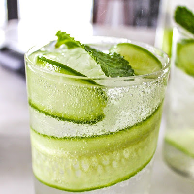 Dry Cucumber Cooler Cocktail
