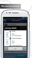 Screenshot of O2 Train Travel