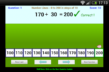Number Lines - screenshot