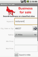 Screenshot of Business For Sale