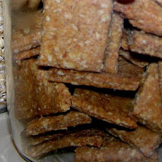 Low-Sodium Whole-Grain Crackers