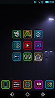 Screenshot of Neon Pixelz - Icon Pack