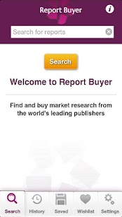 Market Research Reports - screenshot