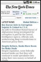 Screenshot of News