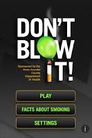 Screenshot of Don't Blow It