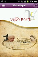 Screenshot of Visita Papal