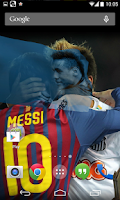 Screenshot of 3d Neymar Junior LiveWallpaper