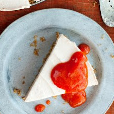 No-Bake Persimmon And Goat Cheese Cheesecake Recipe