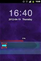 Screenshot of GO Locker Theme Dark Purple