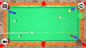 Screenshot of 3D Pool Tricks