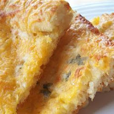 Garlic-Cheese Flat Bread