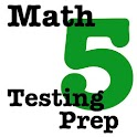 5th Grade Math Testing Prep icon