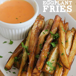 Golden Eggplant Fries