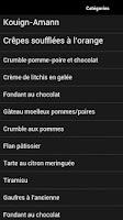 Screenshot of Recette de Cuisine