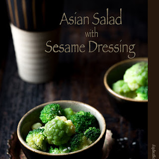 Asian Salad with Sesame Dressing